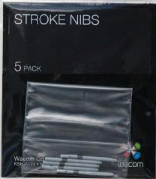 Náhradní hroty k tabletu Intuos4/5/Pro (stroke, 5ks)