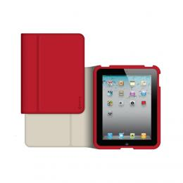 Griffin Slim Folio obal pro iPad Air, červený