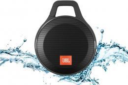 JBL Clip+ Black - ultrapřenosný voděodolný reproduktor s Bluetooth a mikrofonem