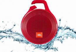 JBL Clip+ Red - ultrapřenosný voděodolný reproduktor s Bluetooth a mikrofonem