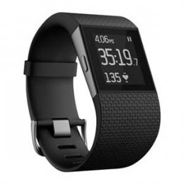 Fitbit Surge, snímač denní aktivity a kvality spánku, černý - velikost Large