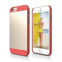 ELAGO S6 Outfit, tenký plastový obal pro iPhone 6, růžovo-zlatý