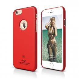 ELAGO S6 Slimfit, tenký plastový obal pro iPhone 6, červený