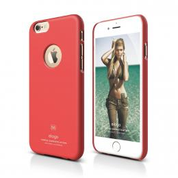 ELAGO S6 Slimfit, tenký plastový obal pro iPhone 6, růžový