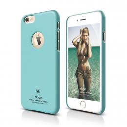 ELAGO S6 Slimfit, tenký plastový obal pro iPhone 6, světle modrý