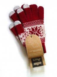Proporta, rukavice pro ovládání iPhone, iPad, iPod, červené