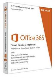 Microsoft Office 365 Business - licence na 1 rok - elektronické dodání