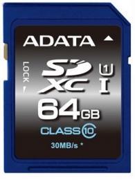 ADATA 64GB MicroSDXC Premier USH-I Class 10