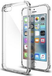 Spigen Crystal Shell - tenké pouzdro pro iPhone SE/5S/5 - transparentní