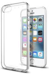 Spigen Liquid - tenké TPU pouzdro pro iPhone SE/5S/5 - průhledné