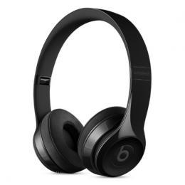 Beats Solo3 - bezdrátová On-Ear sluchátka s ovládáním, lesklá černá