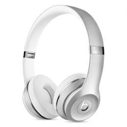 Beats Solo3 - bezdrátová On-Ear sluchátka s ovládáním, stříbrná