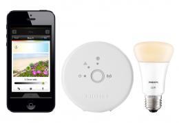 Philips Hue Lux, síťová LED žárovka - startovní sada