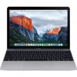 """MacBook 12"""" vesmírně šedý 1.2GHz dual-core Intel Core M3/16GB/HD615/256GB flash, CZ klávesnice"""