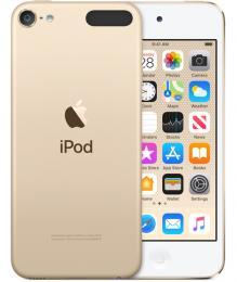 iPod touch 32GB, zlatý