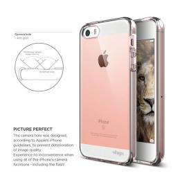 ELAGO Flex Robust - TPU pouzdro pro iPhone SE/5S/5 - čiré