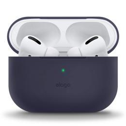 Elago Silicon Case, pouzdro pro Airpods Pro - jeanově modré